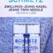 Schmetz jeans twin naalden 4.0/100