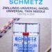 Schmetz universal twin naalden 4.0/80