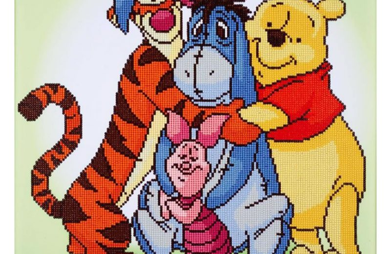 Diamond Painting  DISNEY POOH & FRIENDS Camelot Dotz