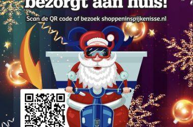 Pakketjes bezorgen door de Kerstman