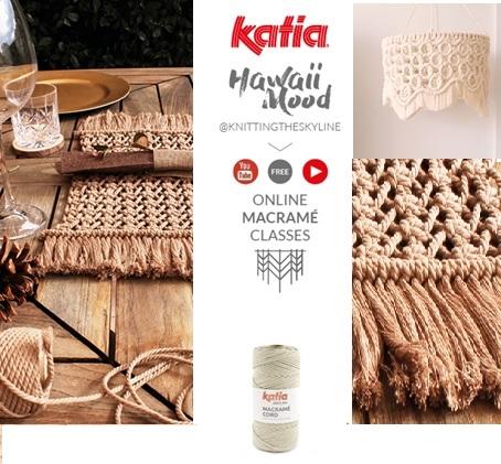 Online macramé Cursus van KAtia