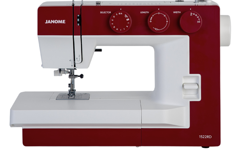 Janome  1522 RD rood